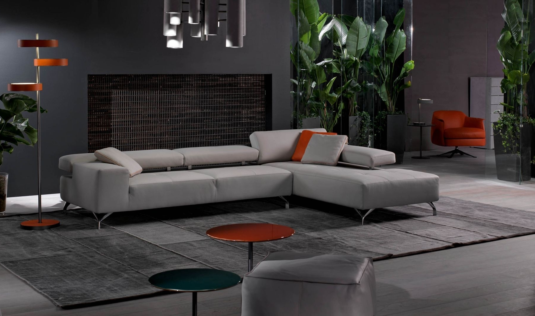 Most Current Miami Sectional Sofas With Miami Modern Sectional Sofa (View 11 of 20)