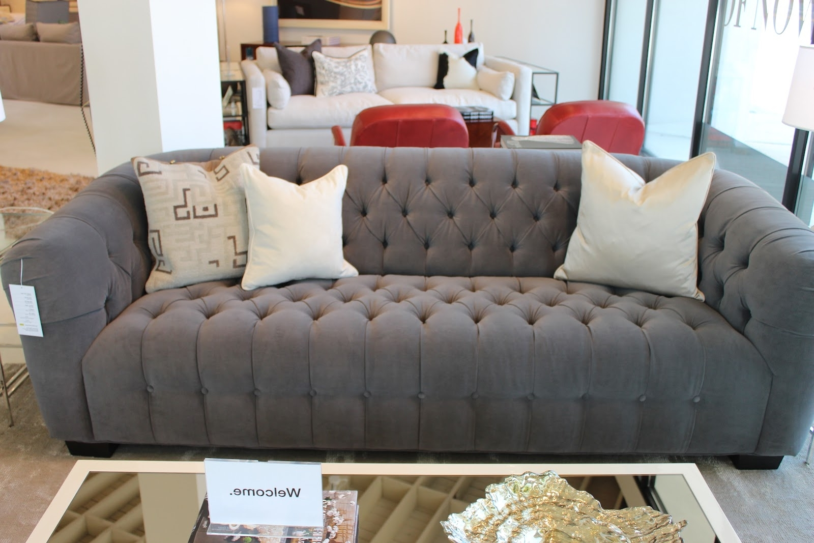 Most Current Mitchell Gold – Design Indulgence In Gold Sectional Sofas (View 11 of 20)