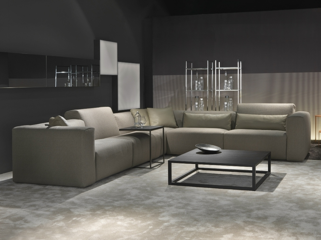 Most Current Modular Sectional Sofa Leather — Home Designs Insight : Design Regarding Leather Modular Sectional Sofas (View 11 of 20)