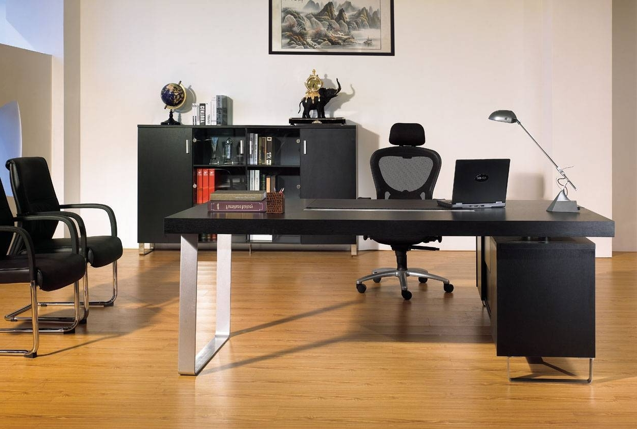 Most Current Office Desk;executive Table Set;office Table – Dongguan Huayi With Executive Office Table And Chairs (Gallery 11 of 20)