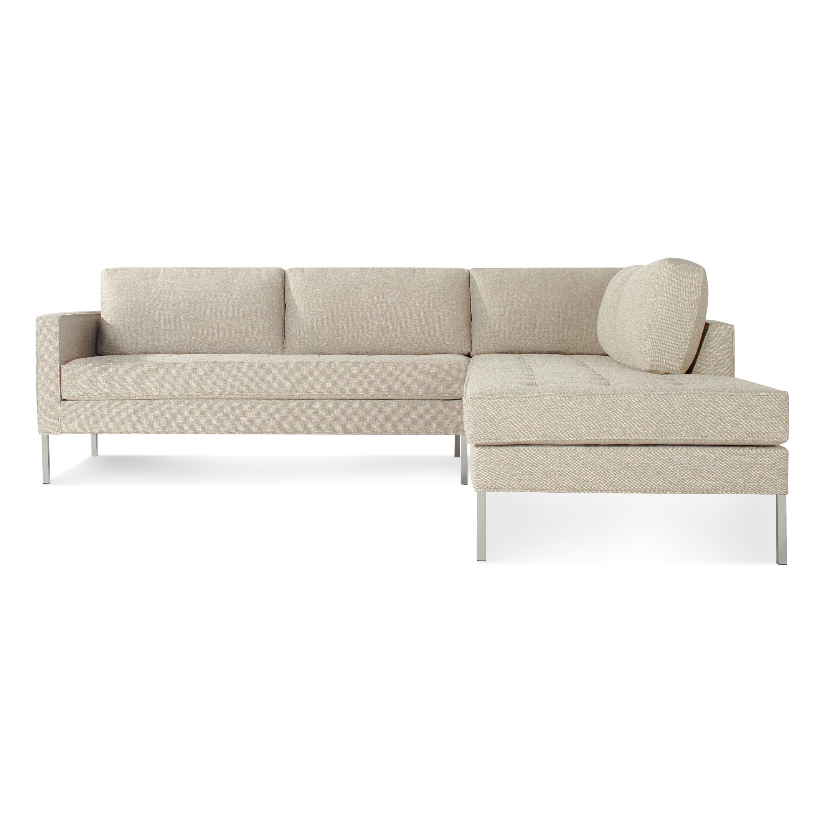 Most Current Paramount Left Sectional Sofa – Modern Designer Sofas (View 4 of 21)