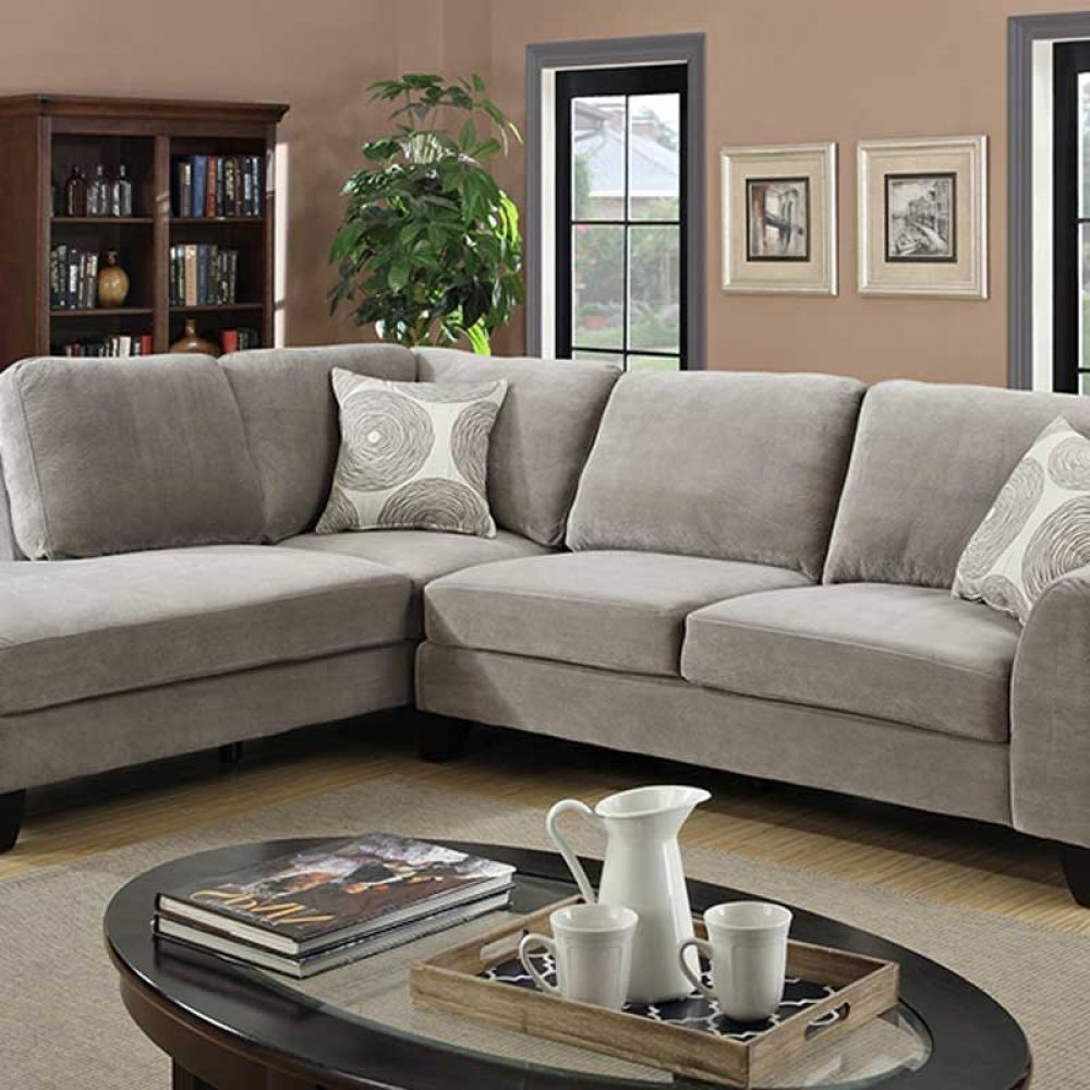 Most Cur Portland Or Sectional Sofas Regarding Malibu Gray The Furniture Shack Gallery