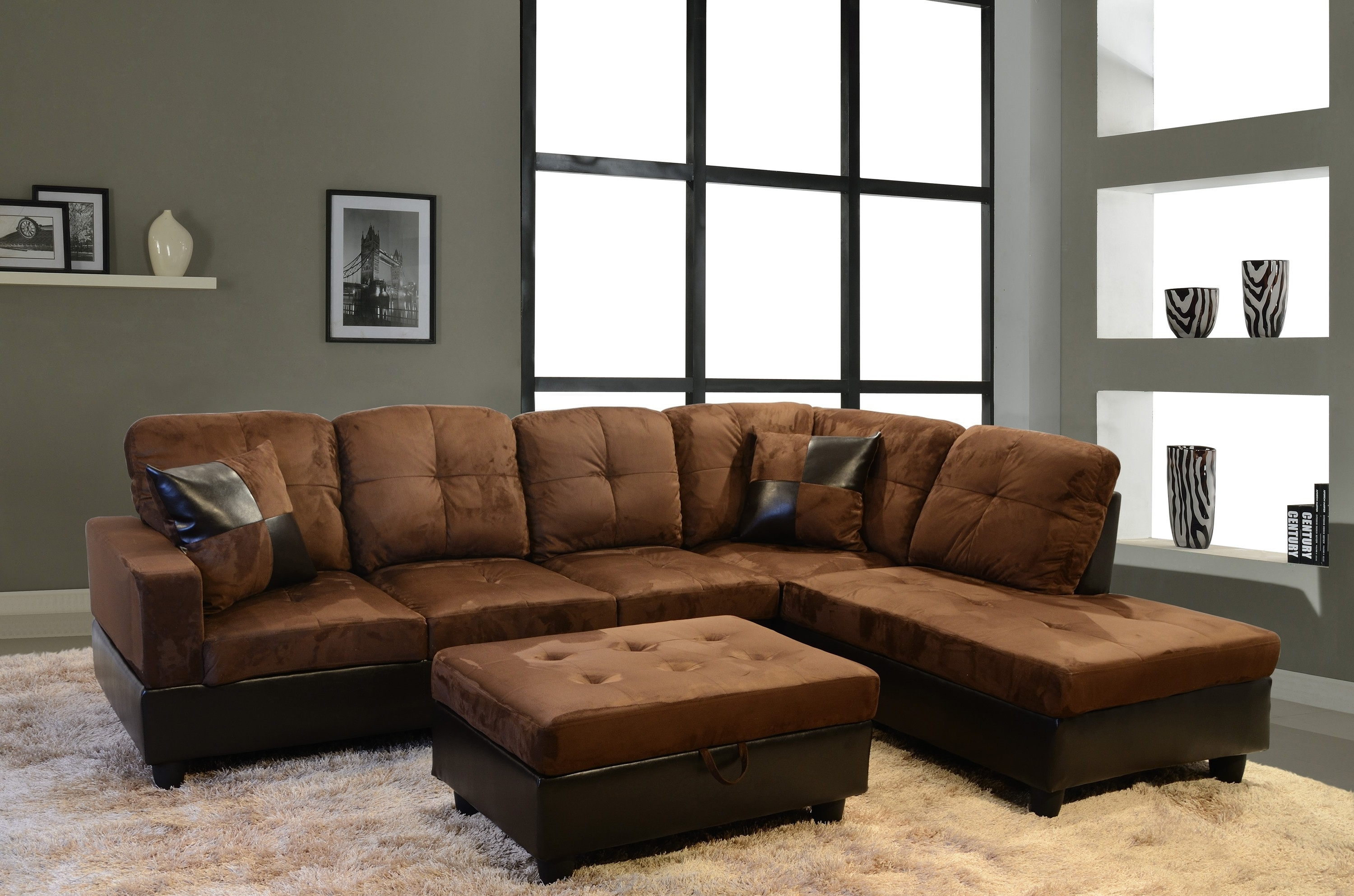Most Current Sectional Sofas At Sears Within Furniture & Rug: Cheap Sectional Couches For Home Furniture Idea (View 5 of 20)