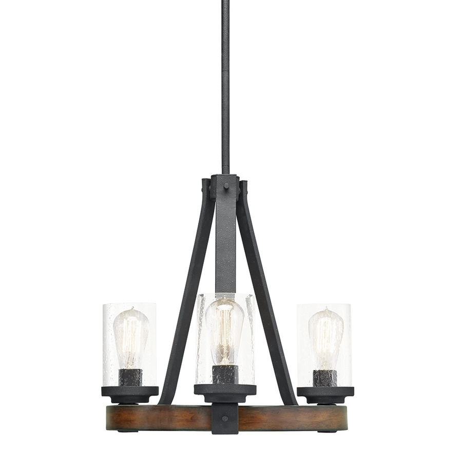 Most Current Shop Chandeliers At Lowes Inside Small Rustic Chandeliers (View 10 of 20)