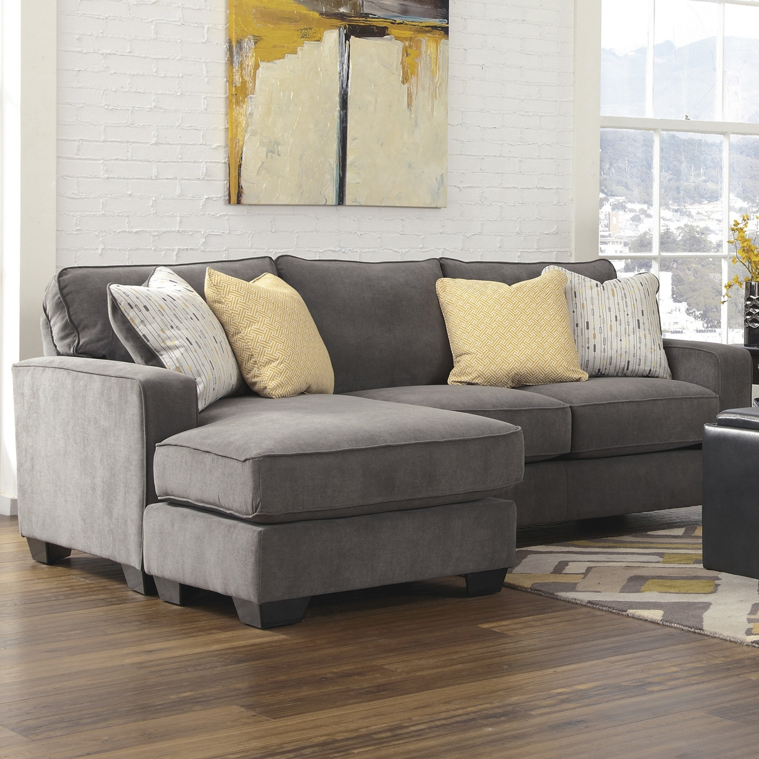 Most Current Small Sectional Sofas Throughout Sectional Sofas (View 10 of 20)