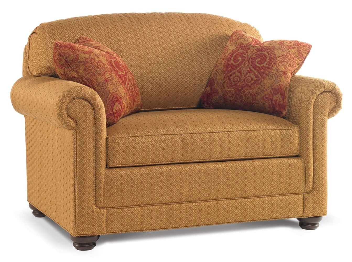 Most Current Small Twin Sleeper Sofas Chairs With Pillow And Storage Plus Brown In Small Sofas And Chairs (View 9 of 20)