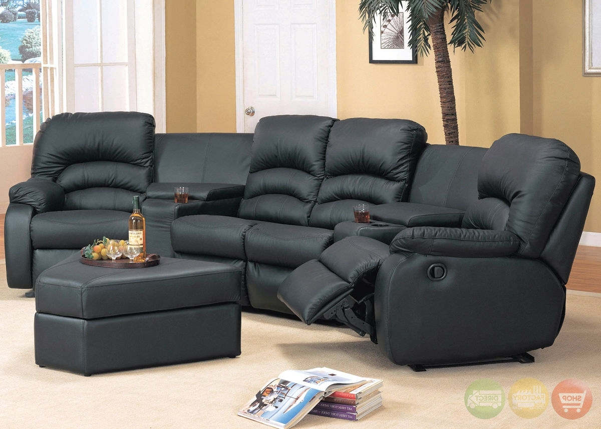 Most Current Sofa : Small Leather Sectional Sofa Small Scale Sectional Couch In Narrow Spaces Sectional Sofas (View 12 of 20)