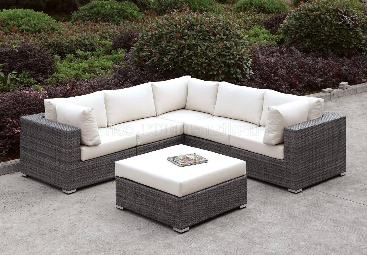 Most Current Somani Cm Os2128 12 Outdoor Patio L Shaped Sectional Sofa Set In L Shaped Sectional Sofas (View 7 of 20)