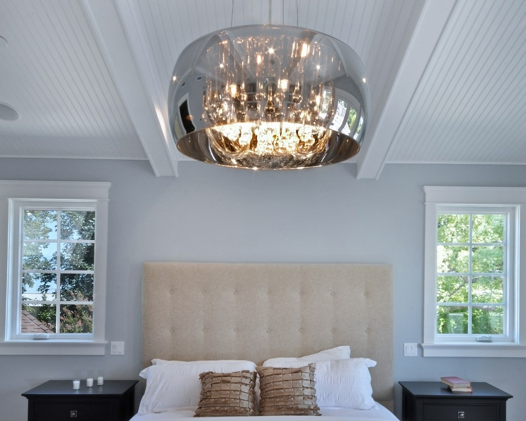 Most Current Wall Mounted Bathroom Chandeliers With Regard To Light : Led Surface Mount Ceiling Lights Crystal Flush Light Wall (View 4 of 20)