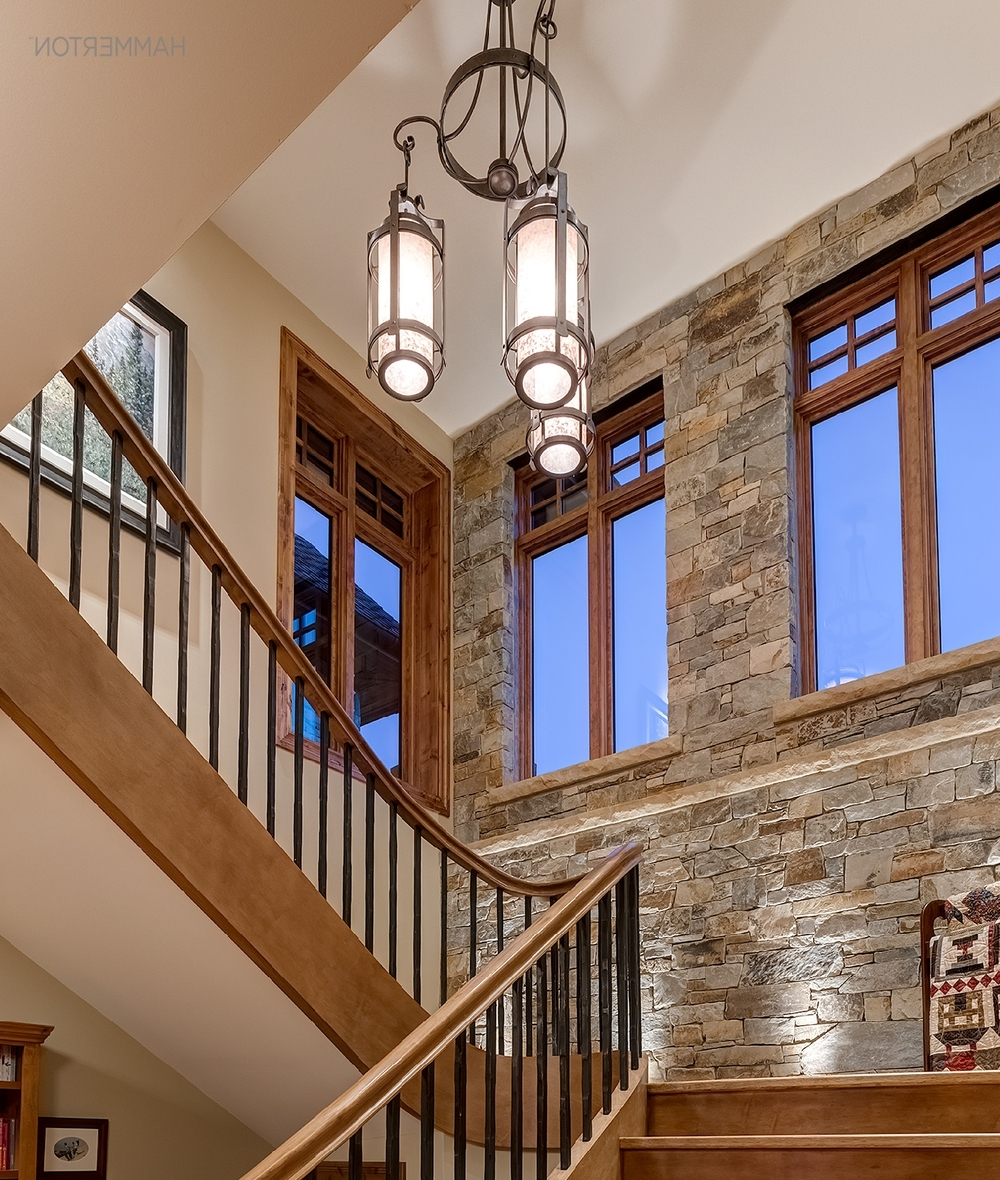 Most Popular Bright Stairway Ideas — Hammerton Blog In Stairway Chandelier (View 9 of 20)