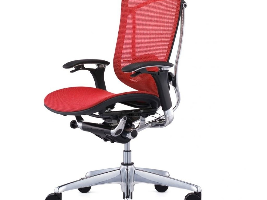 Most Popular Chairs : Ergonomic Office Chair Adjustable Lumbar Support George Intended For Executive Office Chairs With Adjustable Lumbar Support (View 9 of 20)