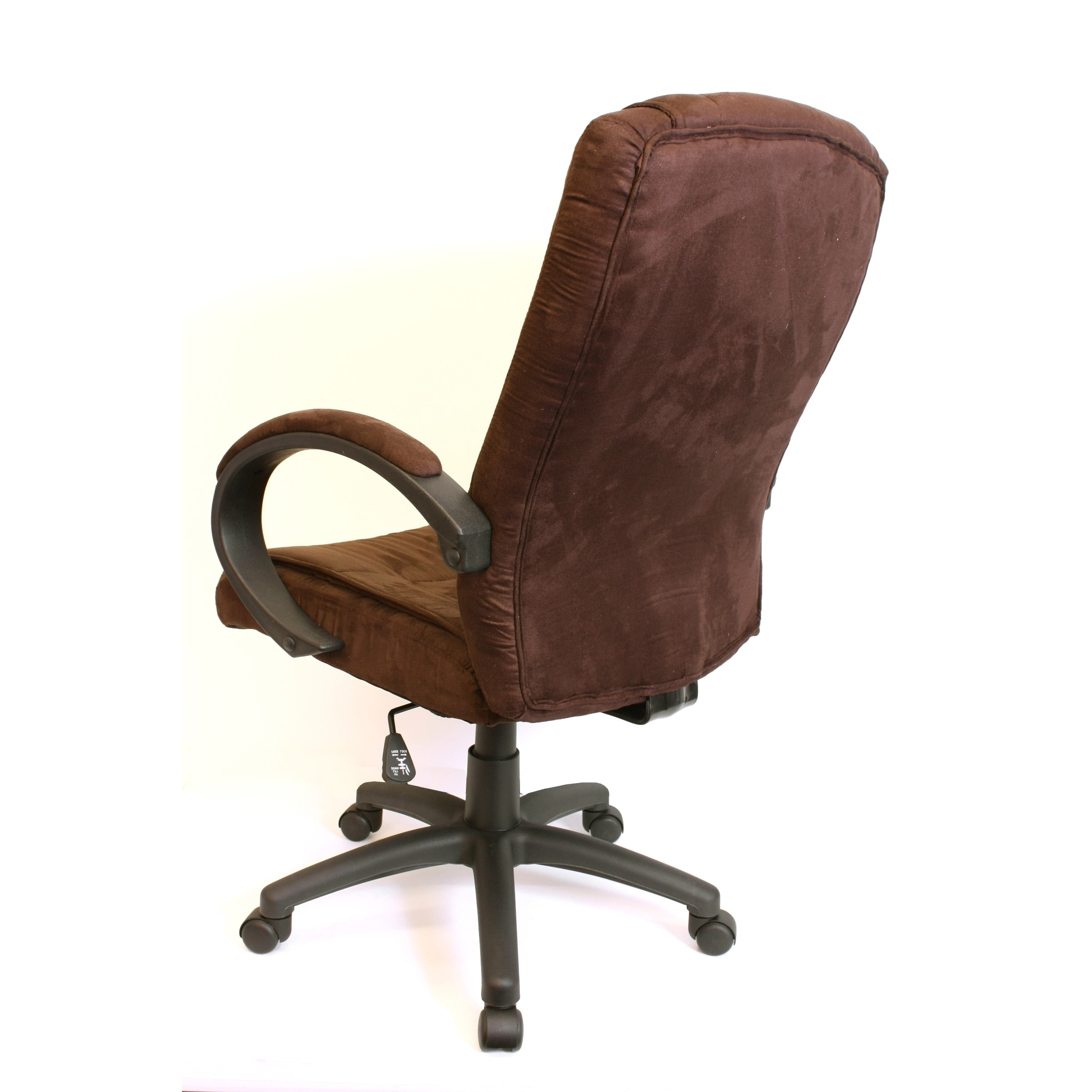 Most Popular Comfort Products Padded Microsuede Office Chair – Free Shipping In Light Beige Microfiber Executive Office Chairs (View 11 of 20)