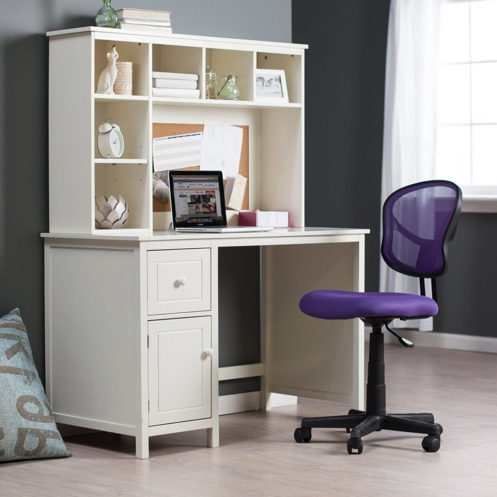 Most Popular Computer Desks For Small Rooms With Regard To Desk : Compact Computer Desk For Small Spaces The Office Furniture (View 15 of 20)