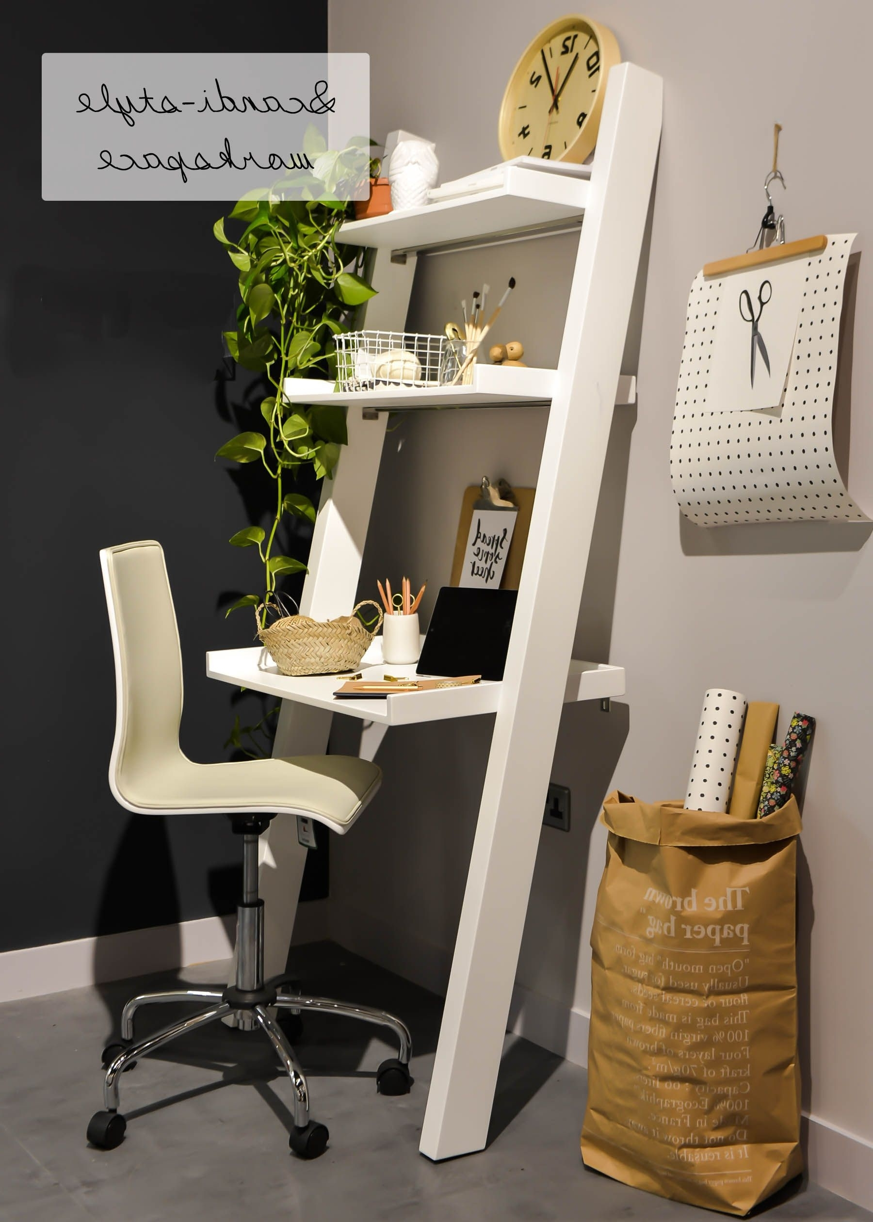 Most Popular Computer Desks For Very Small Spaces In 20 Top Diy Computer Desk Plans, That Really Work For Your Home (View 9 of 20)