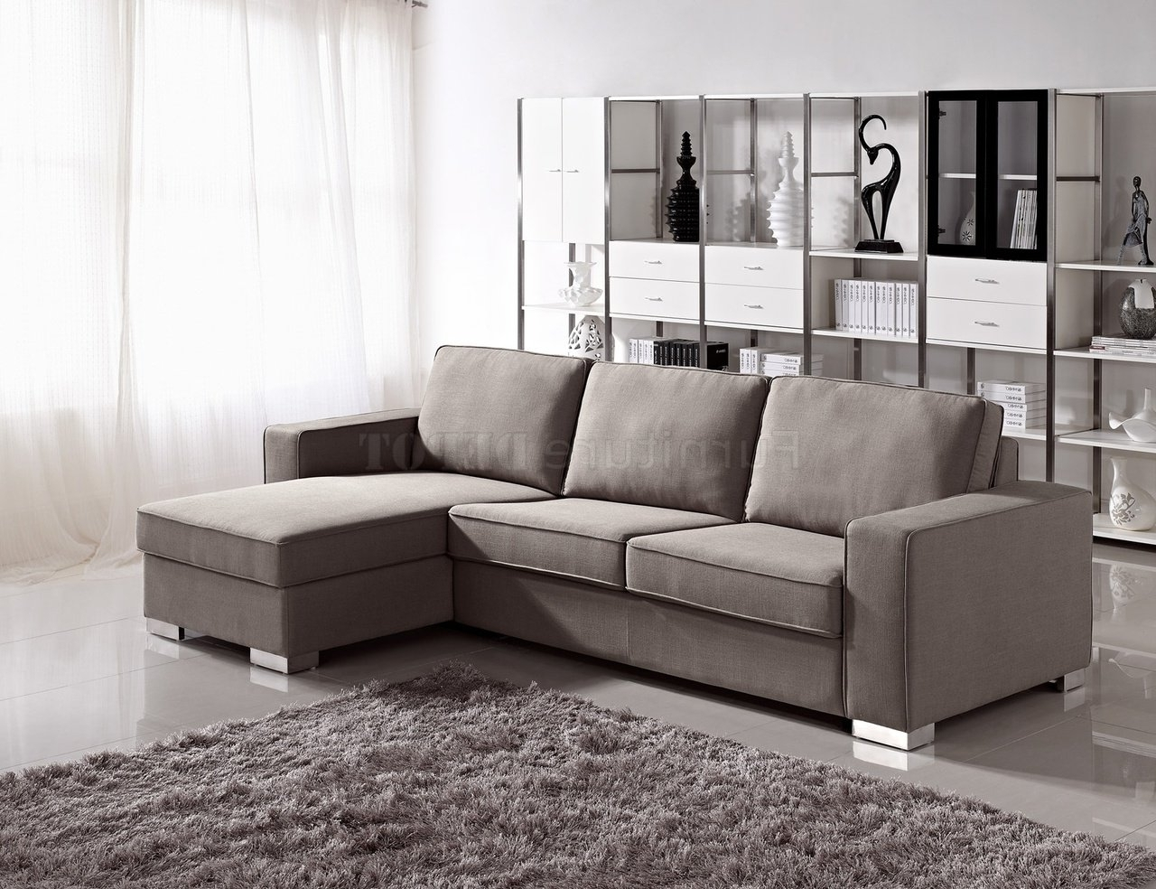 Most Popular Convertible Sectional Sofas Pertaining To Sectional Sofa Design: Adorable Convertible Sectional Sofa Bed (View 15 of 20)