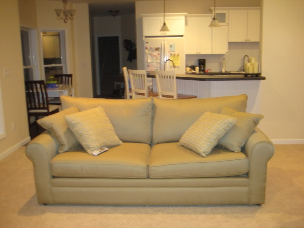 Most Popular Cream Colored Sofas For Light Colored Sofa With Little Kids (View 3 of 20)