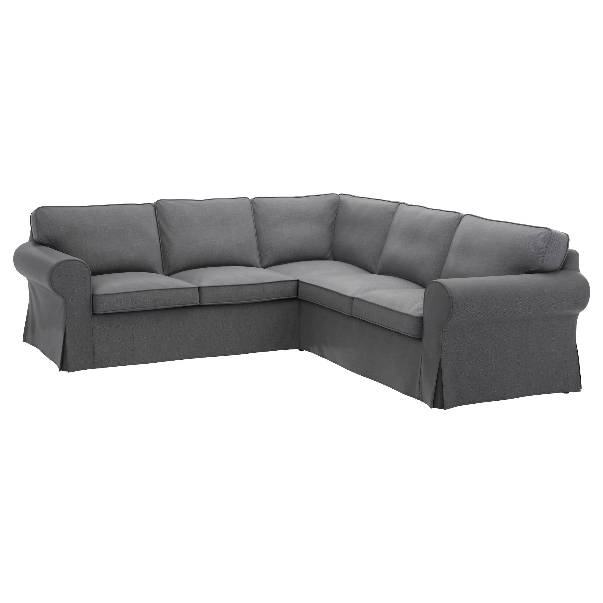 Most Popular Ektorp Sectional, 4 Seat Corner – Nordvalla Dark Gray – Ikea For Memphis Sectional Sofas (View 15 of 20)