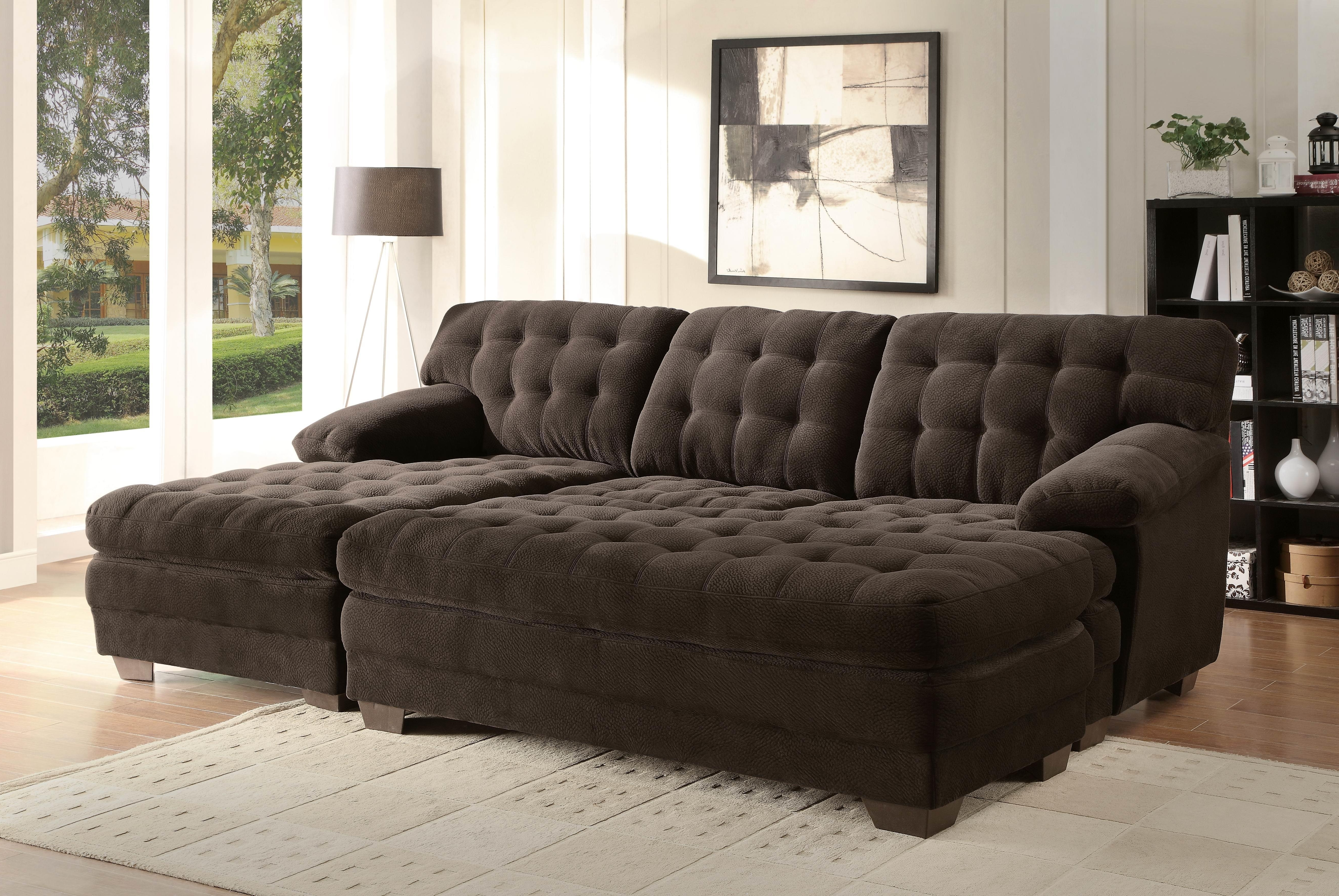 Most Popular Extra Large Sofas Pertaining To Extra Long Reclining Sofa Extra Large Sectional Sofas Oversized (View 11 of 20)