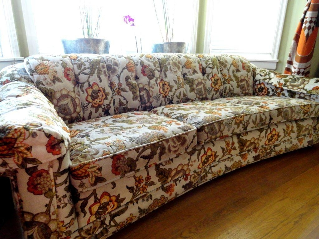Most Popular Furniture : Flowered Sofas Beautiful Floral Sofas Home Decor Throughout Yellow Chintz Sofas (View 9 of 20)