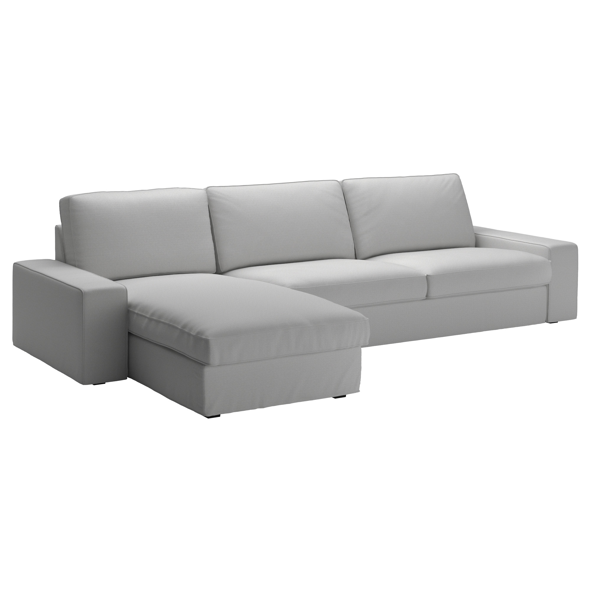Most Popular Ikea Sectional Sofa Beds Within Kivik Sectional, 4 Seat – Orrsta Light Gray – Ikea (View 8 of 20)