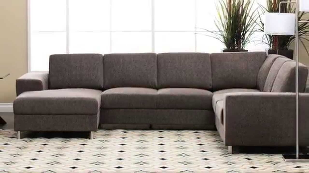 Most Popular Jerome's Sectional Sofas With Regard To Jerome's Furniture – Elena Sectional – Youtube (View 14 of 20)
