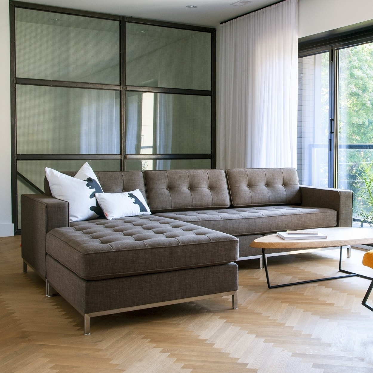 Most Popular Kitchener Sectional Sofas Throughout Modern Sectional Sofas For Sale (View 12 of 20)