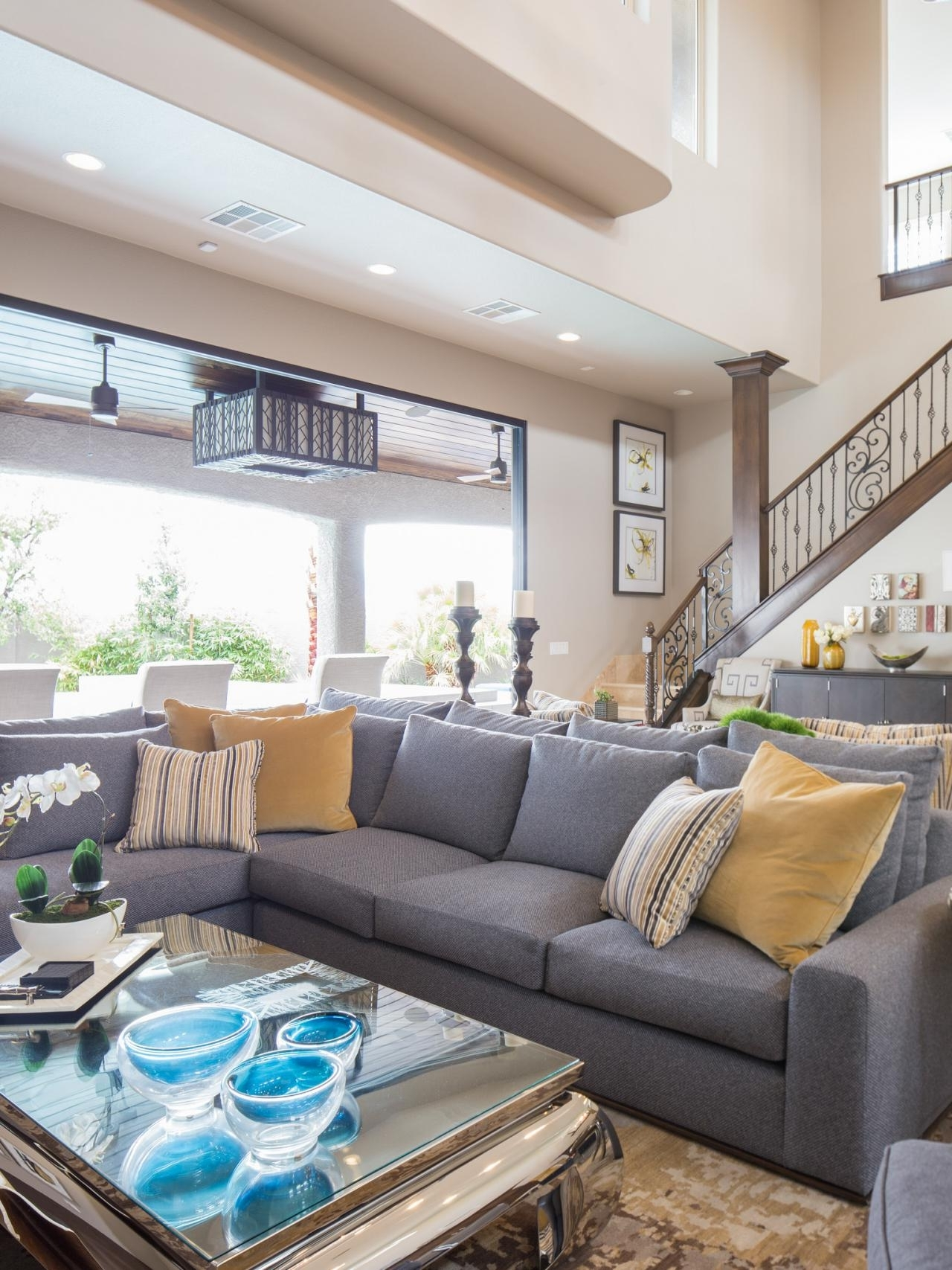 Most Popular Las Vegas Sectional Sofas Inside Na Furniture Featured In Property Brothers' Las Vegas Home (View 11 of 20)