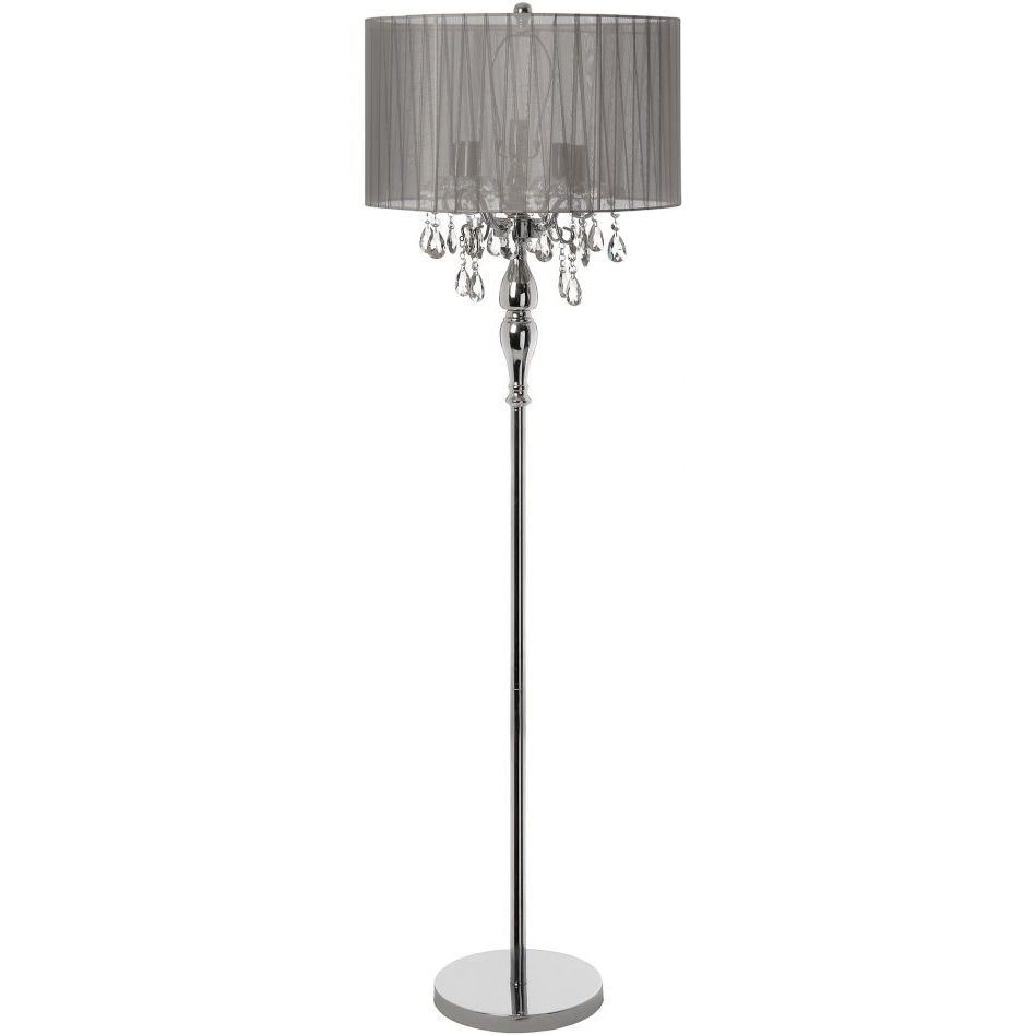 Most Popular Light Bulb For Standing Lamp Paper Shade Floor Old Lamps Tiffany Pertaining To Standing Chandelier Floor Lamps (View 9 of 20)