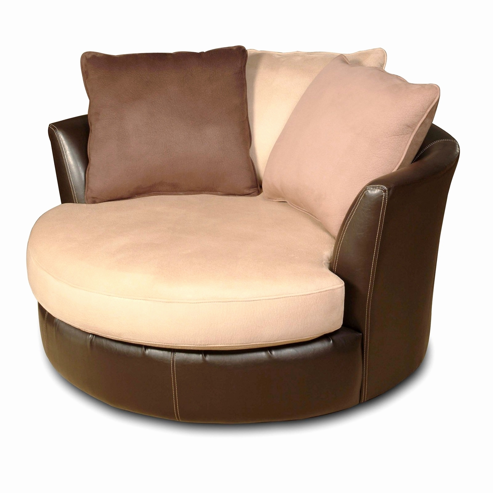 Most Popular Lovely Round Sofa Chair 2018 – Couches Ideas Inside Big Round Sofa Chairs (View 13 of 20)