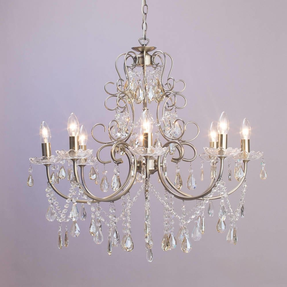 Most Popular Madonna 8 Light Dual Mount Chandelier – Antique Brass From Litecraft With Vintage Chandeliers (View 7 of 20)