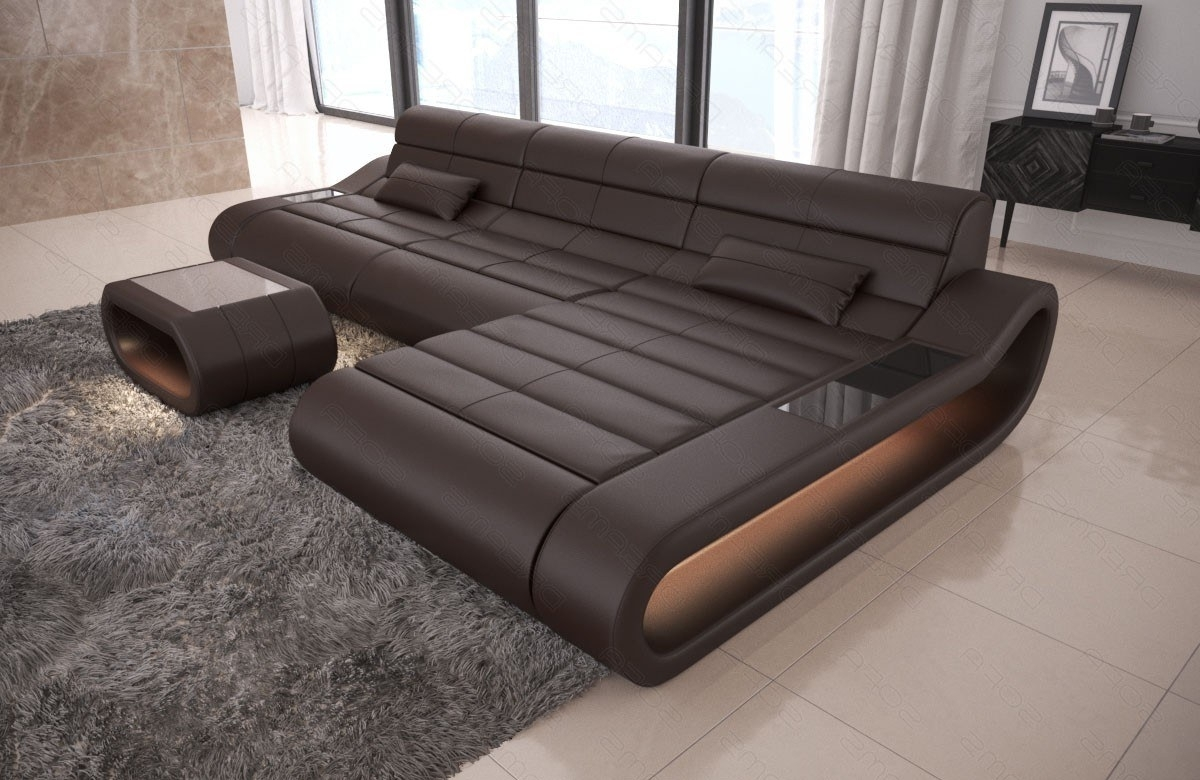 Most Popular Modular Sectional Sofa Concept L Long – Leather Sectional Sofas With Regard To Sectional Sofas (View 8 of 20)