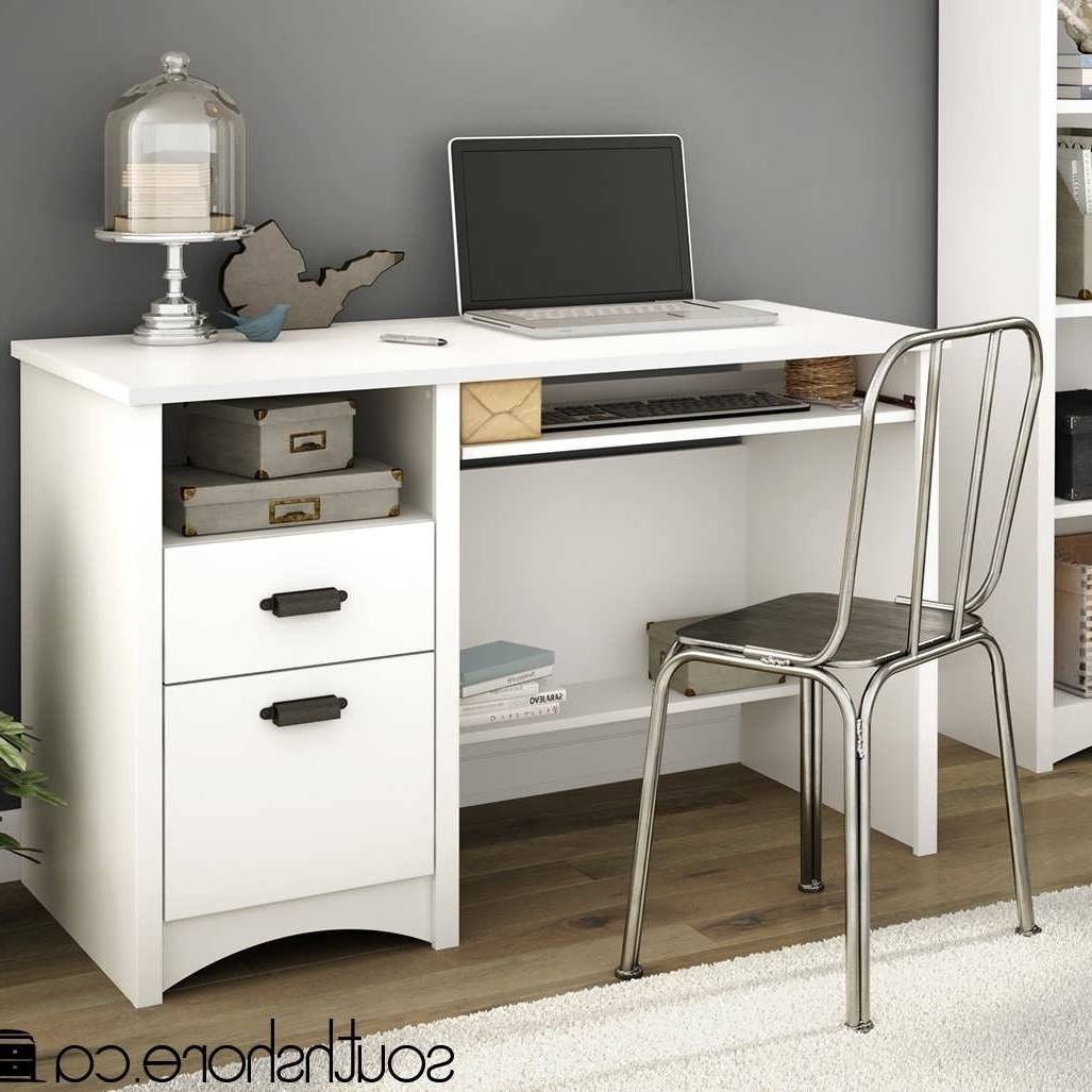 Most Popular Office Desk : Wayfair Office Furniture Small Computer Desk Slim Regarding Computer Desks At Wayfair (View 12 of 20)