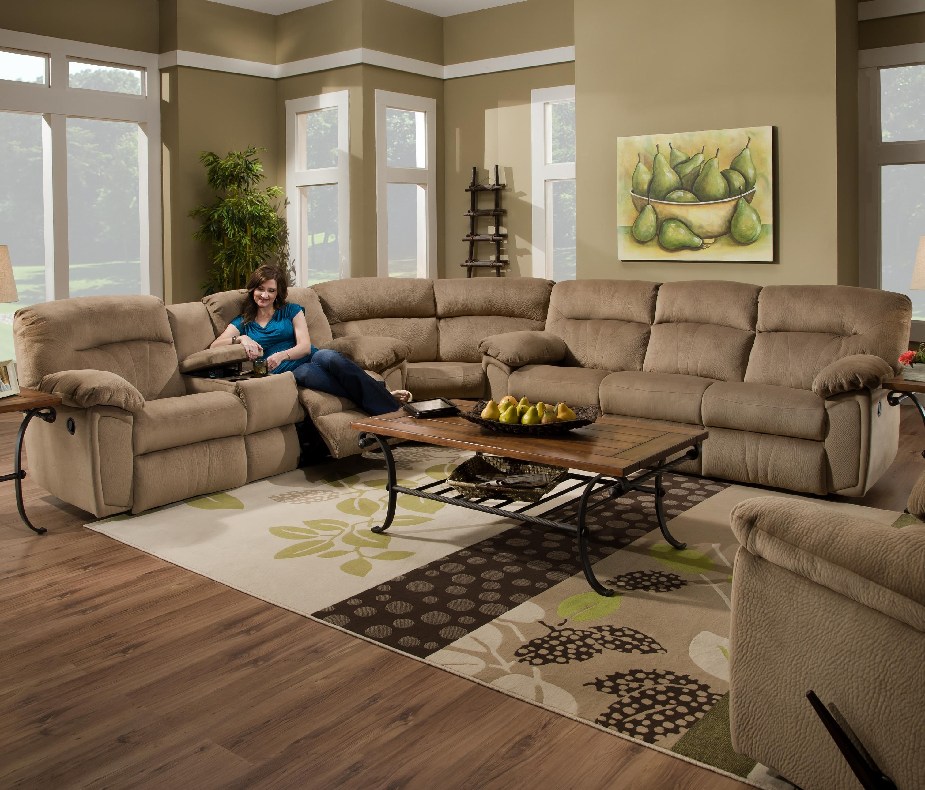 Most Popular Sectional Sofas With Cup Holders With Regard To Cool Sectional Sofas With Cup Holders 11 On Sectional Sofa Beds (View 5 of 20)