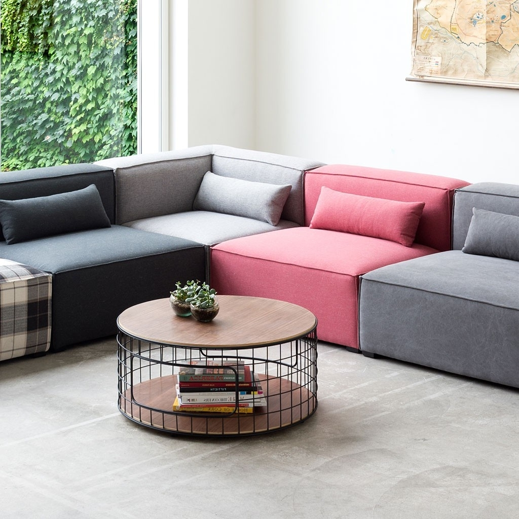 Most Popular Small Modular Sectional Sofas With Regard To Small Corner Sectional Style — Cabinets, Beds, Sofas And (View 6 of 20)