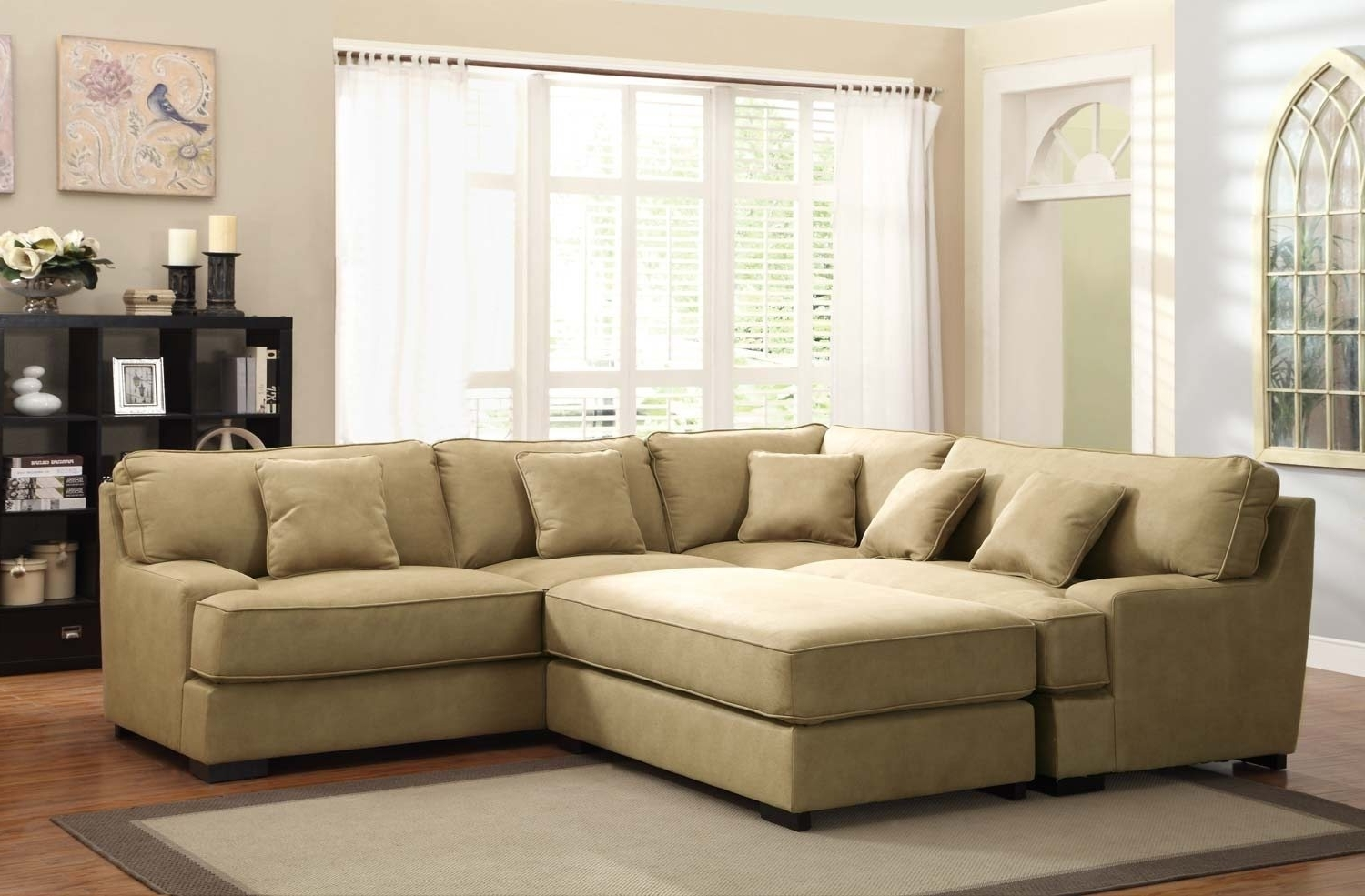 Most Popular Sofa : Elegant Oversized Sectional Sofa Picture Oversized For Couches With Large Ottoman (View 15 of 20)