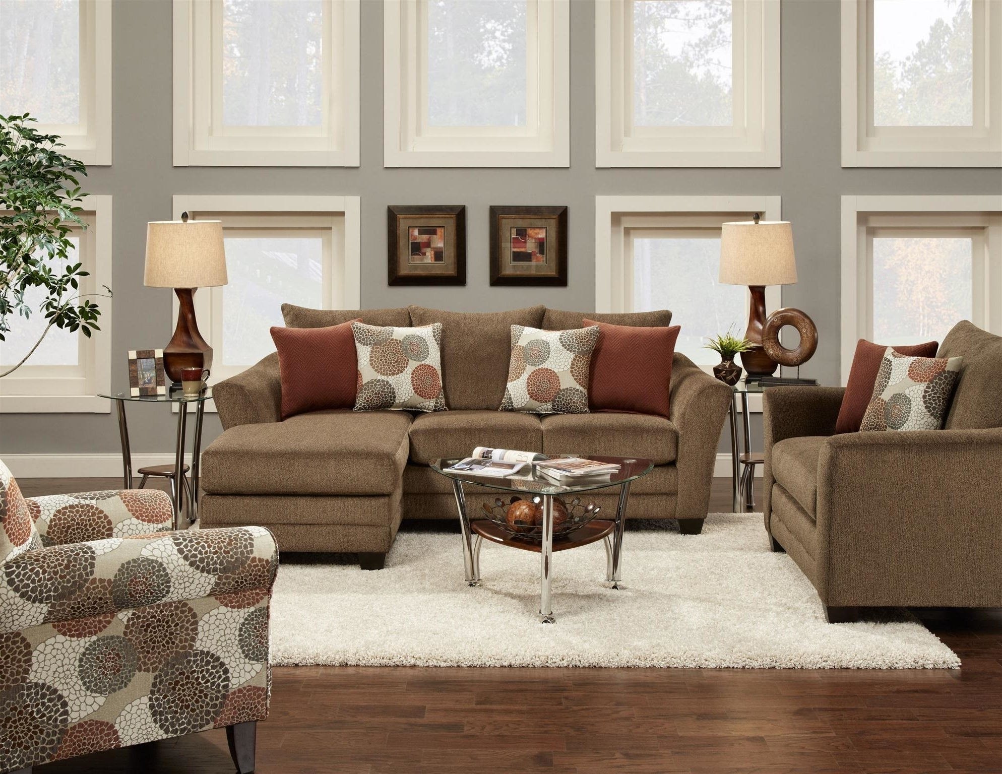 Most Popular Sofas With Oversized Pillows With Extra Large Sofa Pillows – Home Design Ideas And Pictures (View 7 of 20)