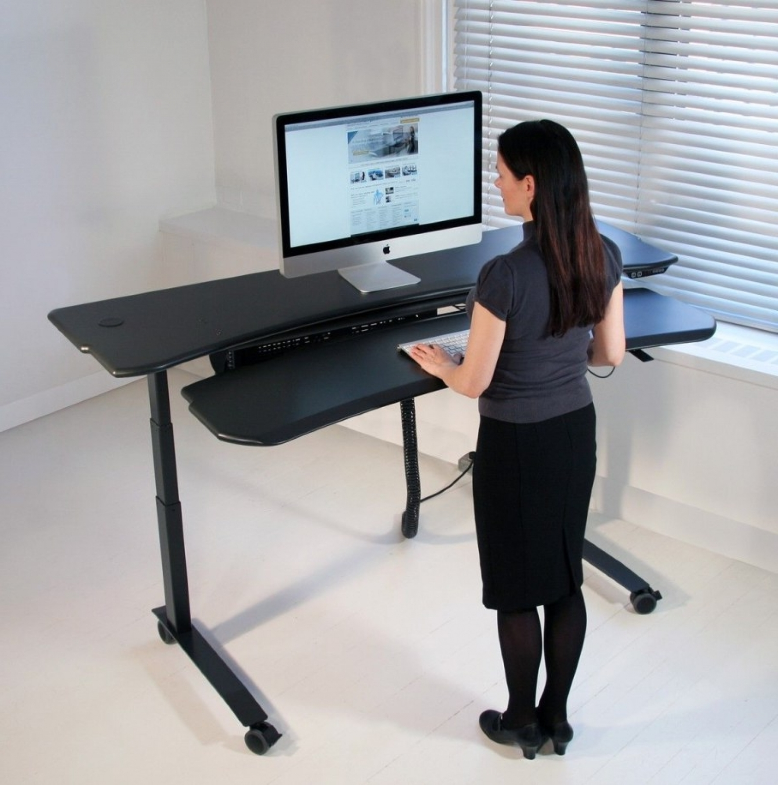 Most Popular Standing Computer Desks With Regard To Standing Computer Desk. 100 Computer Desk Standing 6 Best (Gallery 7 of 20)