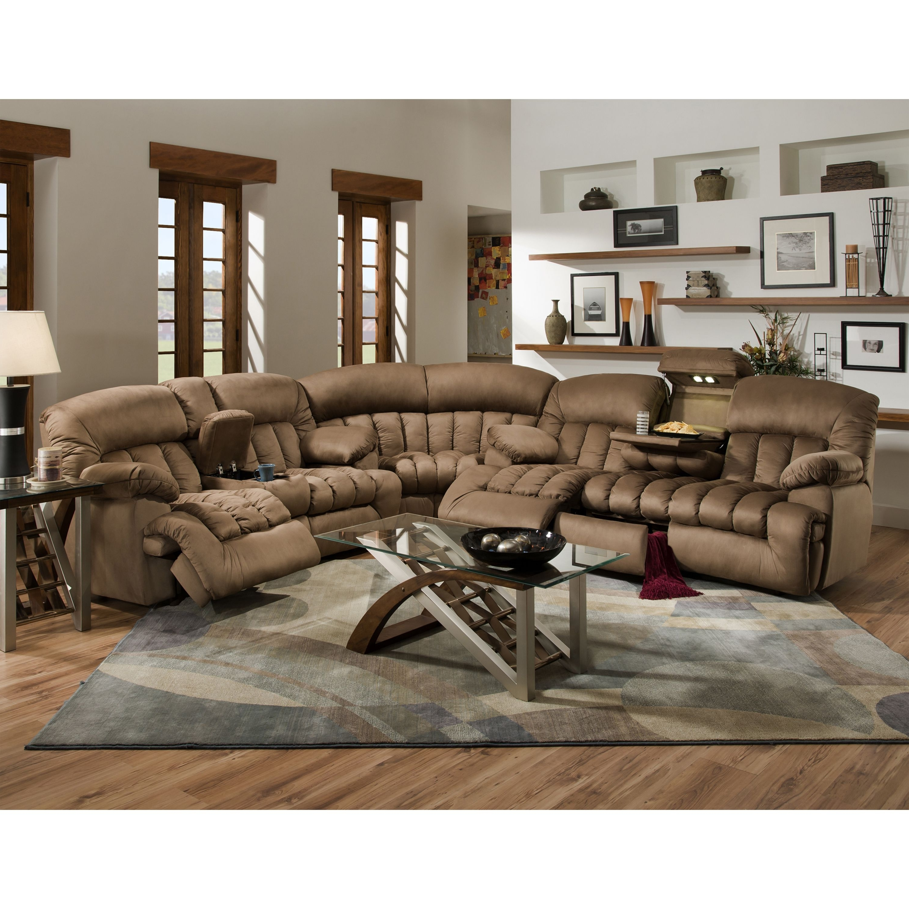 Most Popular This Gorgeous, Comfortable, 3 Piece Sectional Sofa Features A Throughout Murfreesboro Tn Sectional Sofas (View 11 of 20)