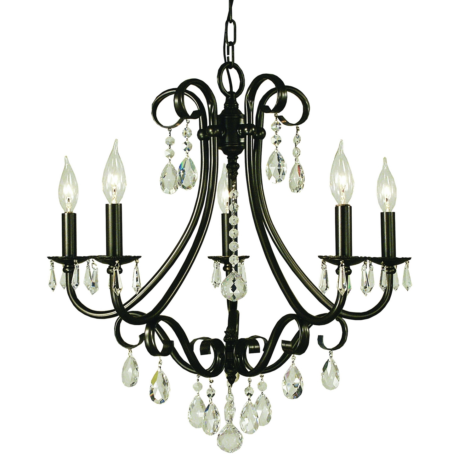 Most Popular Traditional Chandeliers In Choosing Chandeliers For A Traditional Kitchen (View 12 of 20)