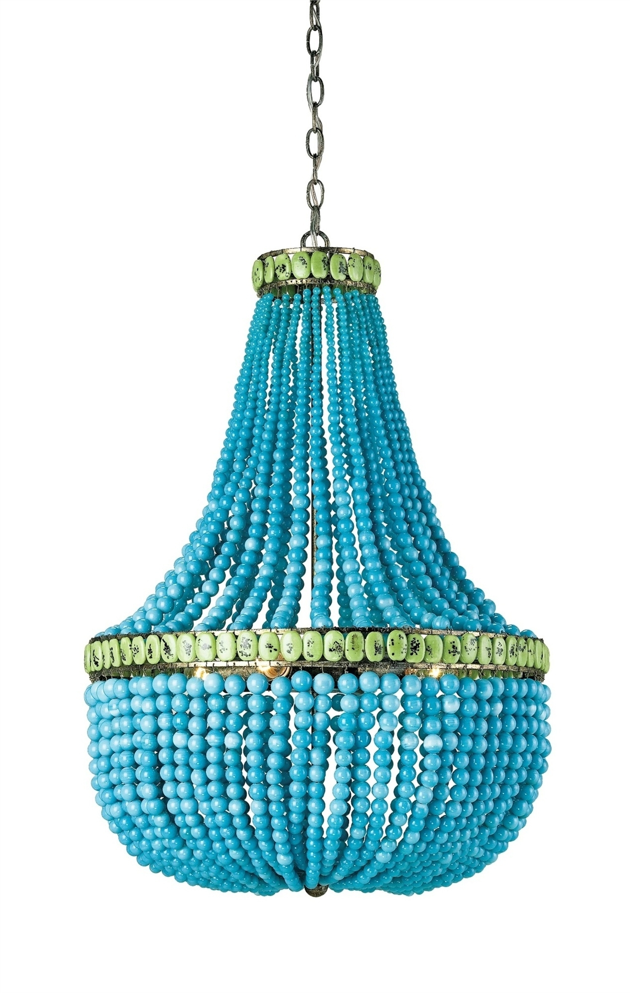 Most Popular Turquoise Blue Chandeliers Within Hedy Chandelier Lighting (View 7 of 20)