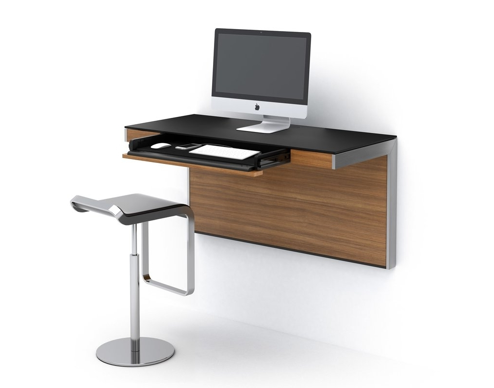 Most Popular Wall Computer Desks Intended For Sequel Wall Mounted Floating Desk & Reviews (View 7 of 20)
