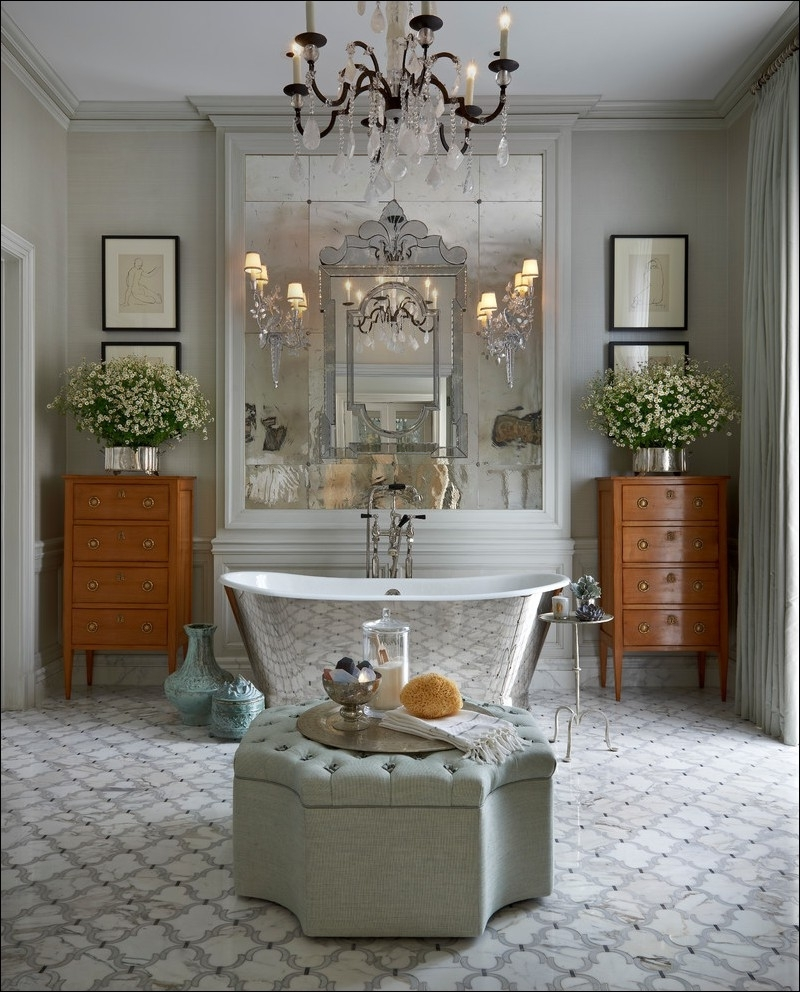 Most Popular Wall Mounted Bathroom Chandeliers Throughout Chandeliers Design : Awesome Bath Tv Wall Mounted Bathroom Lights (View 3 of 20)