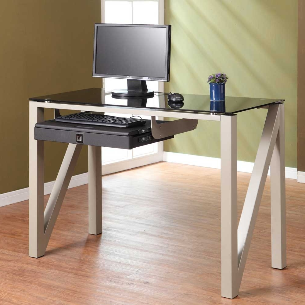 Most Popular Wood And Glass Desk Small Space – Saomc (View 11 of 20)