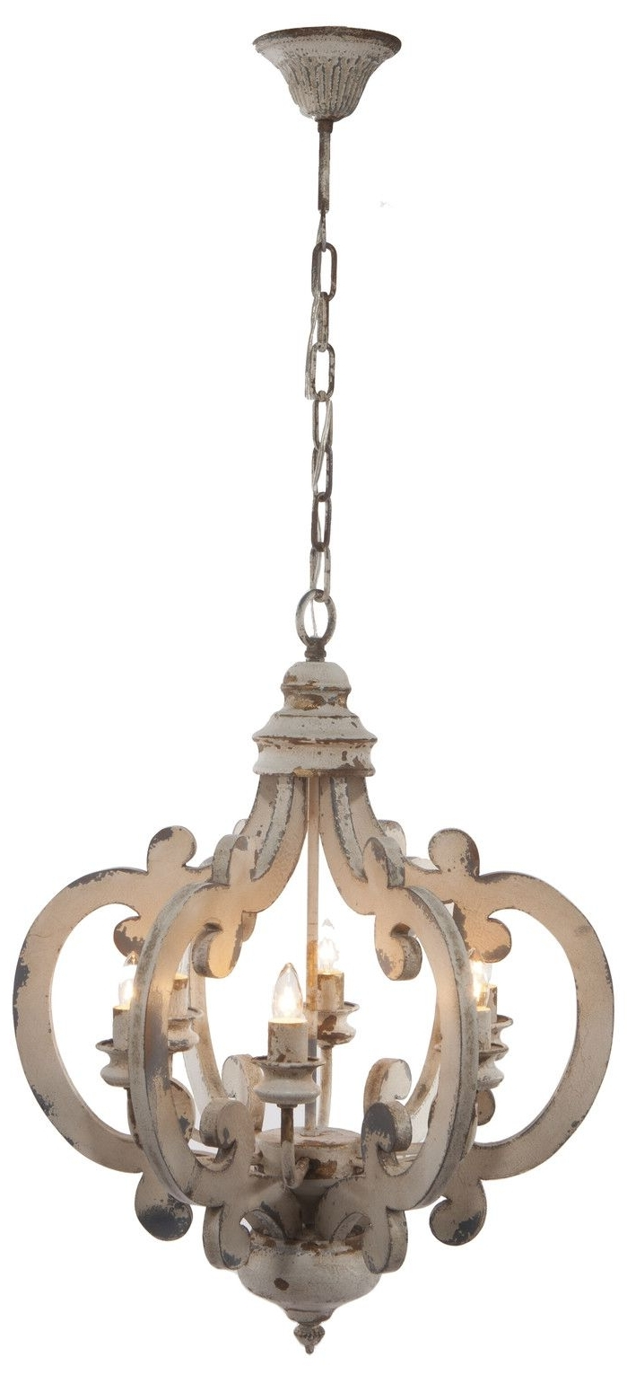 Most Popular Wooden Chandeliers With 6 Light Foyer Pendant (View 13 of 20)