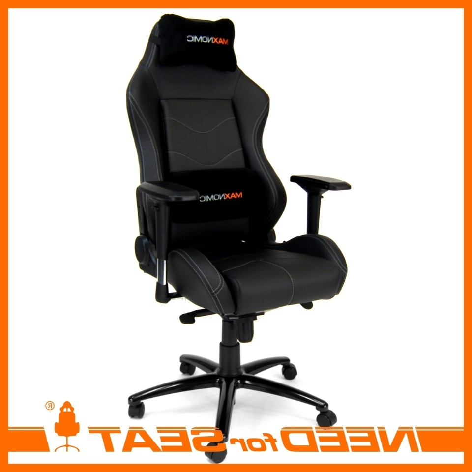 Most Popular Xl Executive Office Chairs Within Maxnomic Computer Gaming Office Chair – Dominator (View 16 of 20)