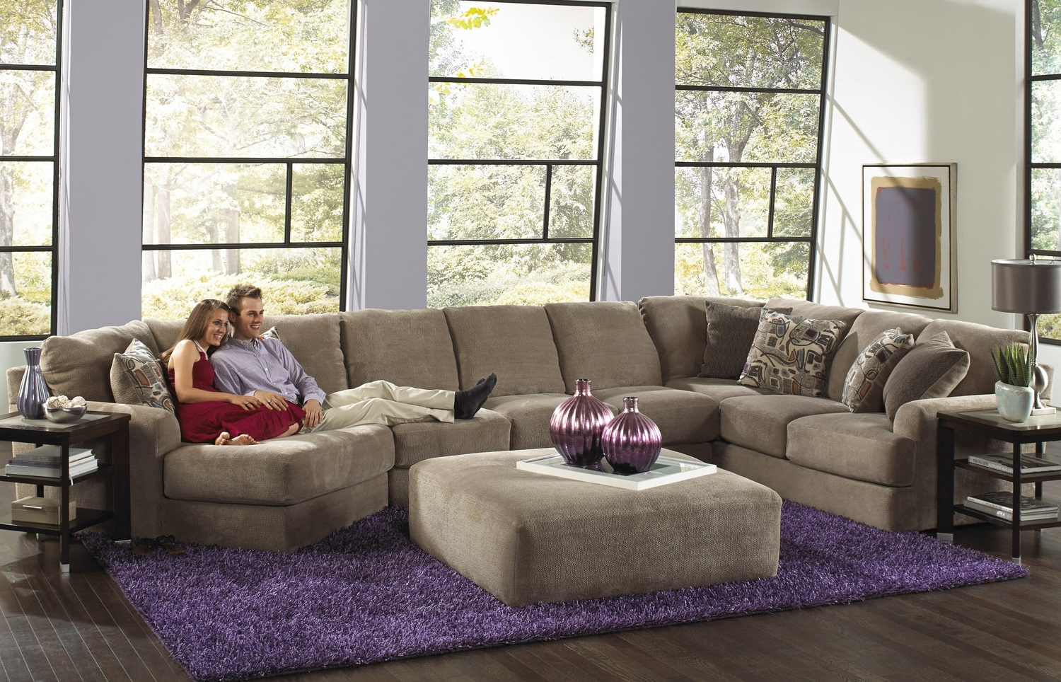 Strange Displaying Gallery Of 110X110 Sectional Sofas View 11 Of 20 Pabps2019 Chair Design Images Pabps2019Com