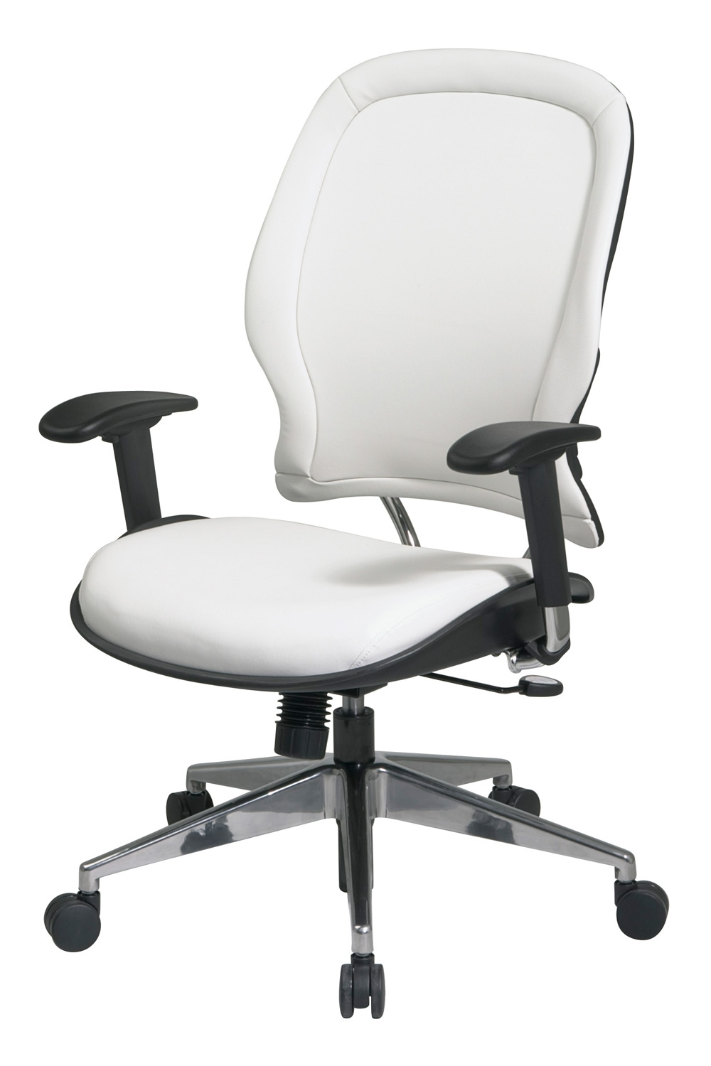 Most Recent 33 Y22P91A8 Office Star – White Vinyl Ergonomic Executive Office Intended For Ergonomic Executive Office Chairs (View 15 of 20)
