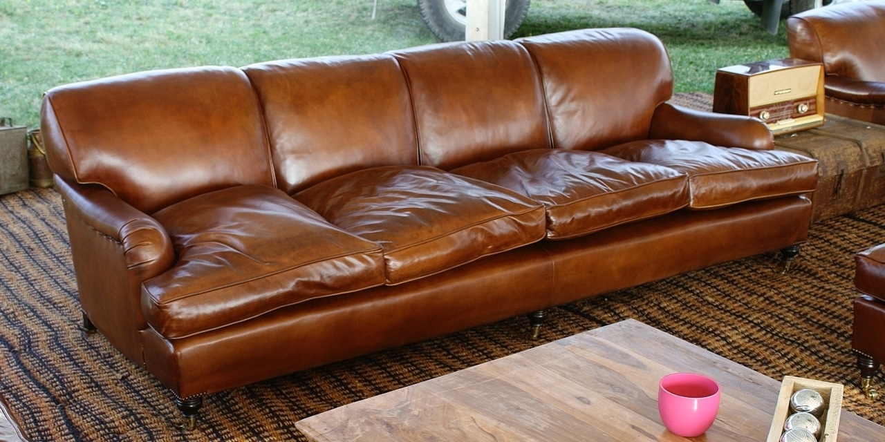 Most Recent 4 Seat Leather Sofa – Home And Textiles Within 4 Seat Leather Sofas (View 14 of 20)