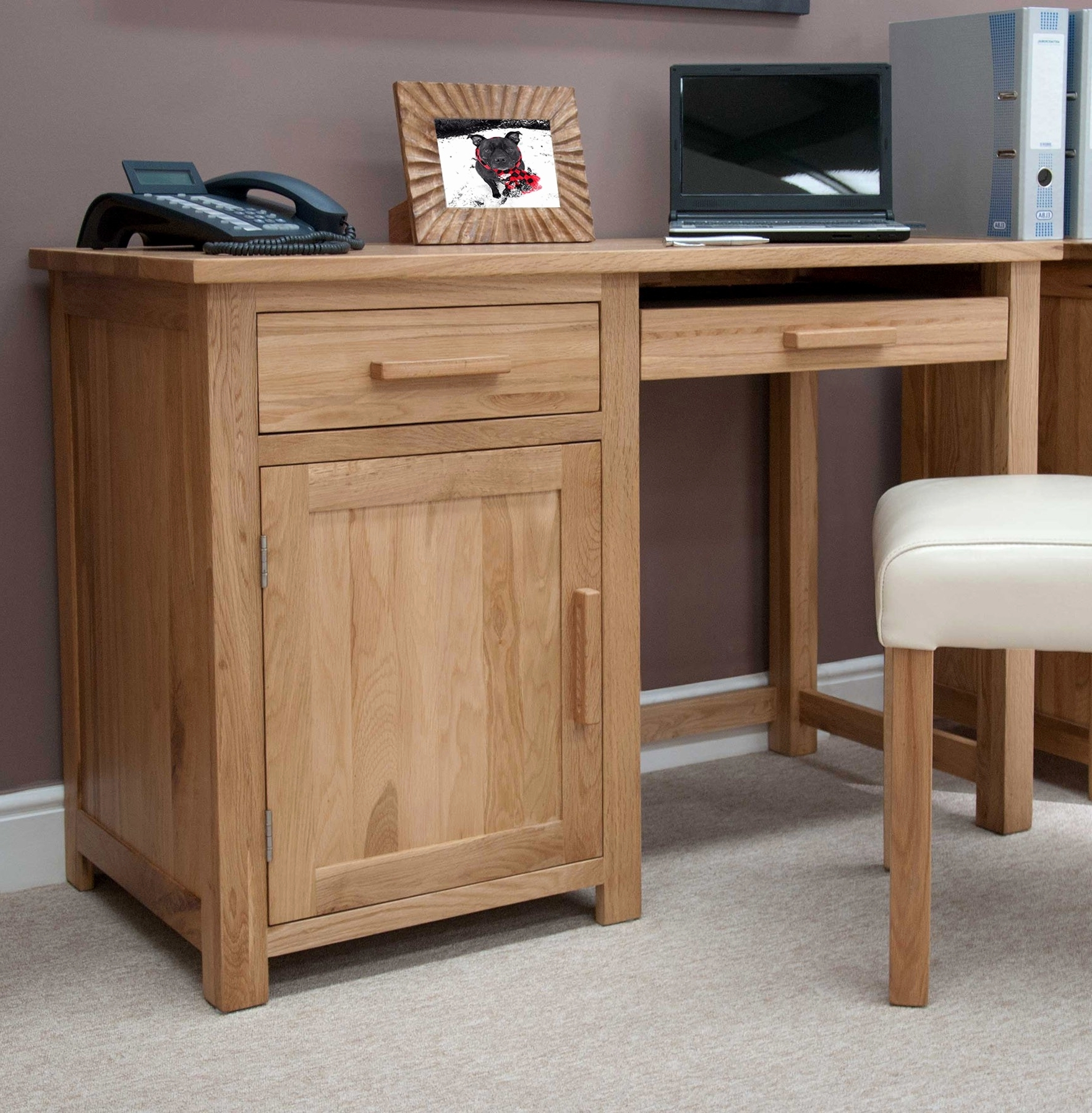 - Image Gallery Of Solid Wood Computer Desks (View 11 Of 20 Photos)