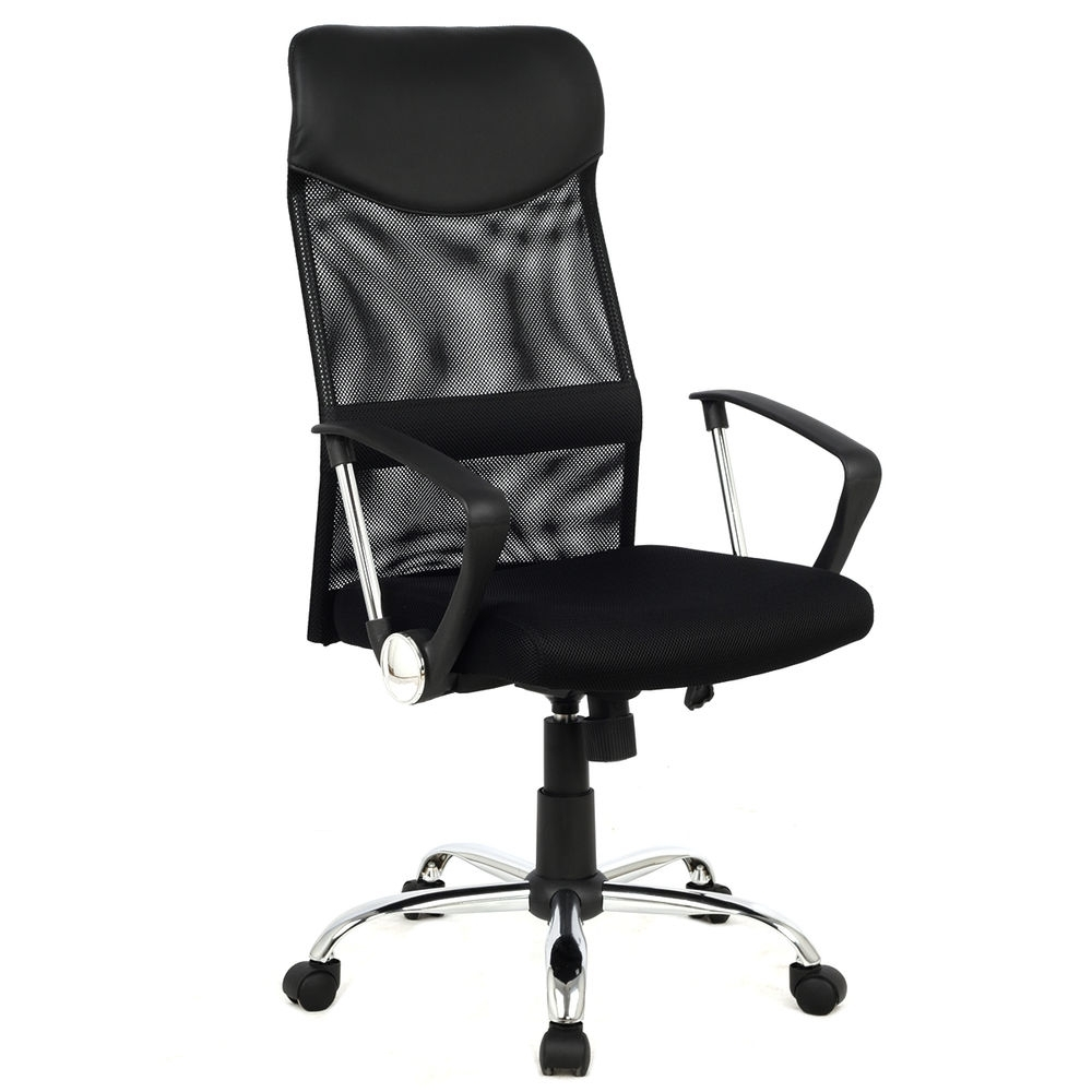 Most Recent Black Executive Office Chairs With High Back Throughout Office Furniture (View 9 of 20)